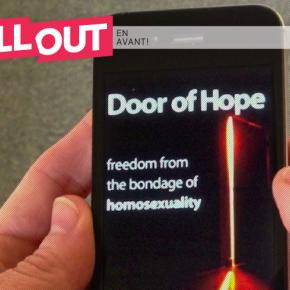 Appel pour supprimer des applis homophobes