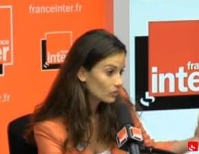 Anne-Cécile Mailfert, la présidente d'Osez le Féminisme sur France Inter hier matin