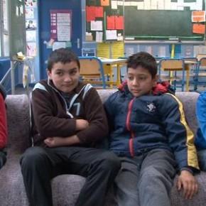 Scolarisation des enfants Rroms mode d'emploi, école Marie Curie de Bobigny