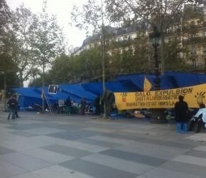 Place de la République depuis Samedi 28 septembre à 15h : Application des lois de la République !