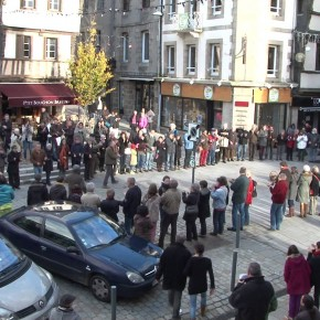 Flash mob à Lannion