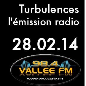 Emission Turbulences du 28 février 2014