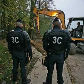 Il y a tout juste un mois : évacuation de bidonvilles à Champs-sur-Marne
