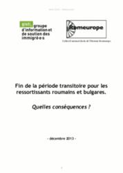 L'Union européenne s'ouvre aux travailleurs roumains et bulgares