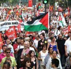 [Pétition] Non à la criminalisation de la solidarité avec la population de Gaza !