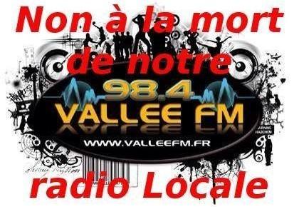 Pétition contre la fermeture de Vallée FM