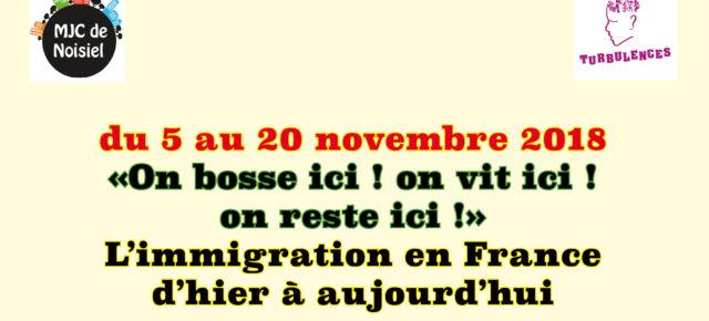 Immigration d'hier et d'aujourd'hui