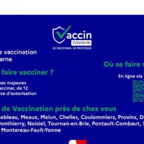 La vaccination au COVID en Seine-et-Marne